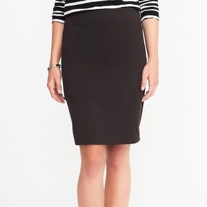NWOT Old Navy Ponte Knit Pencil Skirt Career